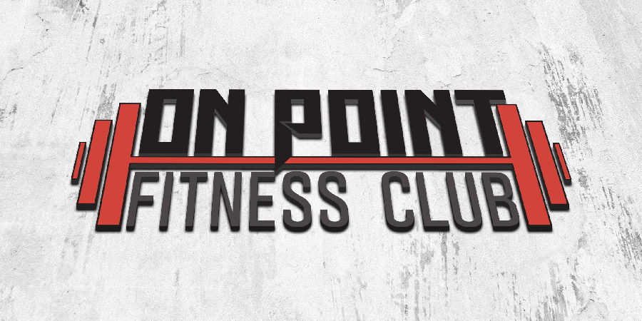 On Point Fitness Club Logo Design