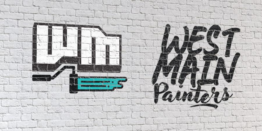 West Main Painters Logo Design